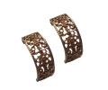 Classic Design Gold Earrings with Beautiful Patterns