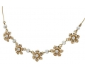 Gold and Pearl Vintage Necklace