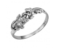 Vintage Style White Gold Diamond Ring