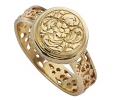 Uniquely Designed Gold Vintage Style Ring