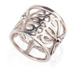Vintage Style Designer Ring Side View